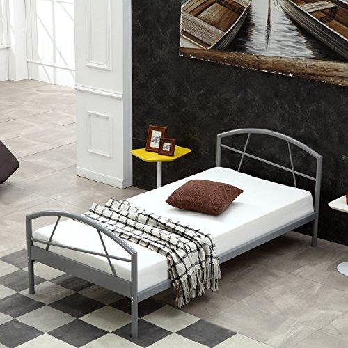 metallbett bettgestell susi alle gr en 90x200cm i flair potibe. Black Bedroom Furniture Sets. Home Design Ideas