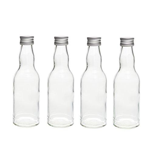 24 leere glasflaschen 200 ml kro lik rflaschen kleine flaschen schnapsflaschen essigflaschen. Black Bedroom Furniture Sets. Home Design Ideas