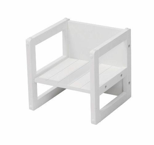 roba sitzhocker f r kinder im landhausstil wendehocker mit 3 sitzh hen wei potibe. Black Bedroom Furniture Sets. Home Design Ideas