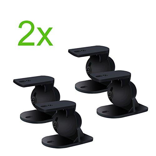 Incutex 4 St Ck 2 Paar Universal Lautsprecherhalterung