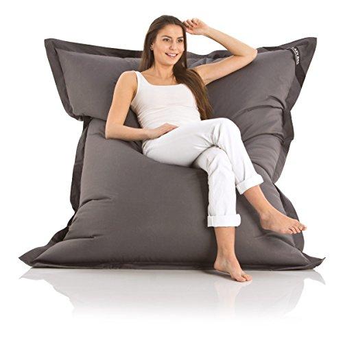 original lazy bag indoor outdoor sitzsack xxl 400l riesensitzsack sitzkissen sessel f r kinder. Black Bedroom Furniture Sets. Home Design Ideas