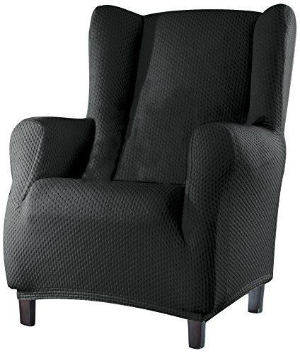 Sucre sofa berwurf ohrensessel fb 06 grau potibe for Ohrensessel sofa