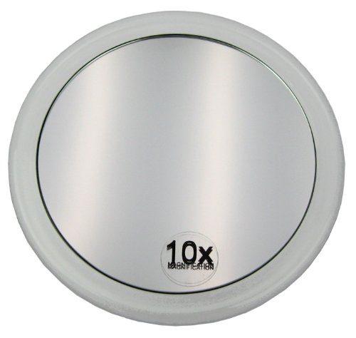 fantasia spiegel mit saugnapf acryl vergr erung 10 fach 15 cm potibe. Black Bedroom Furniture Sets. Home Design Ideas