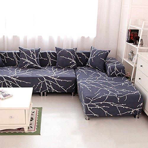 hysenm 1 2 3 4 sitzer sofabezug sofa berwurf stretch weich. Black Bedroom Furniture Sets. Home Design Ideas