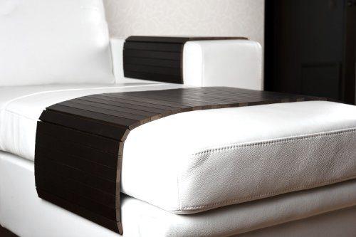 sofatablett xl 100cm ablage tablett schwarz f r hocker oder longchair couch tablett. Black Bedroom Furniture Sets. Home Design Ideas