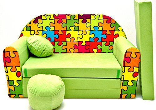 kindersofa spielsofa minicouch aus schaum kindersessel kissen matratze farbwahl 24 potibe. Black Bedroom Furniture Sets. Home Design Ideas