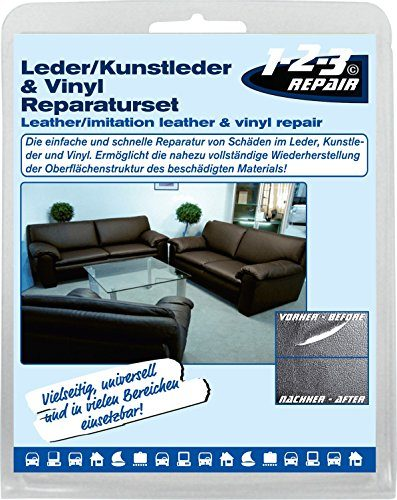 123repair leder kunstleder reparatur set 123005 13 teilig potibe. Black Bedroom Furniture Sets. Home Design Ideas