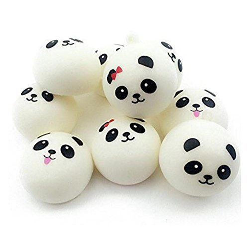 jumbo squishy cute panda charms buns cell phone charm pendant bag strap potibe. Black Bedroom Furniture Sets. Home Design Ideas