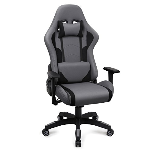 gaming stuhl racing b rostuhl stoff ergonomischer computerstuhl drehstuhl mit hoher. Black Bedroom Furniture Sets. Home Design Ideas