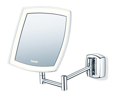 Beurer bs 89 led kosmetikspiegel beleuchtet zur wandmontage 5 fache vergr erung potibe - Kosmetikspiegel beleuchtet wandmontage ...