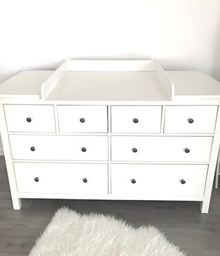 puckdaddy wickelaufsatz rund mit extrabreiter blende f r ikea hemnes 160 cm potibe. Black Bedroom Furniture Sets. Home Design Ideas