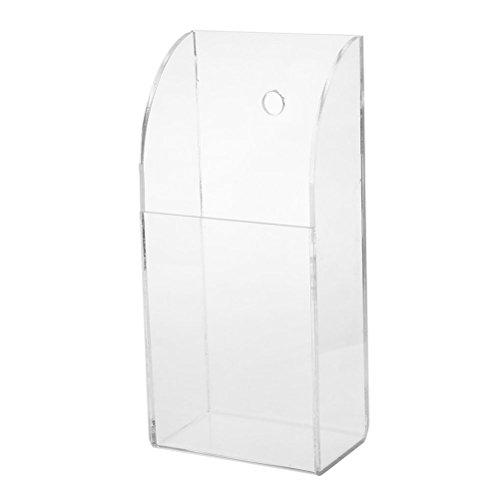 Fernbedienungshalter aus transparentem Acryl für Fernbedienung Wandhalterung